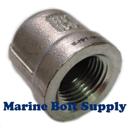 Pipe cap npt s type stainless steel